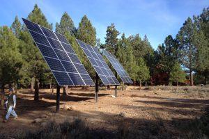 12.6kW Pole Mount Solar, Truckee, CA