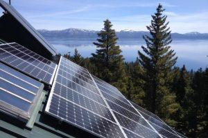 8.3kW Roof Mount Solar, Carnelian Bay, CA