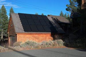 4.2 kW Roof Mount Solar, Tahoe Donner, CA